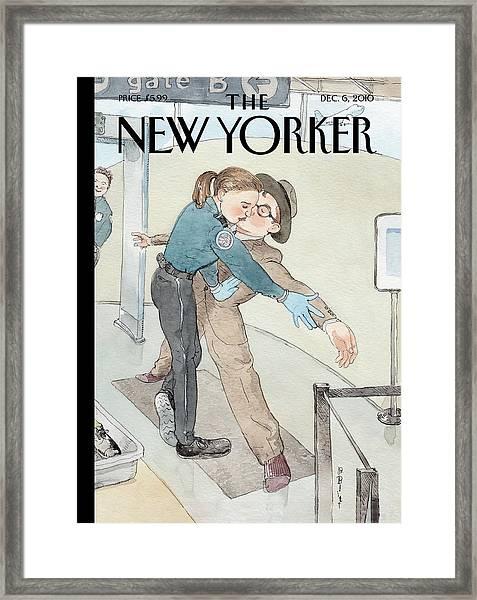 New Yorker December 6th, 2010 Framed Print by Barry Blitt