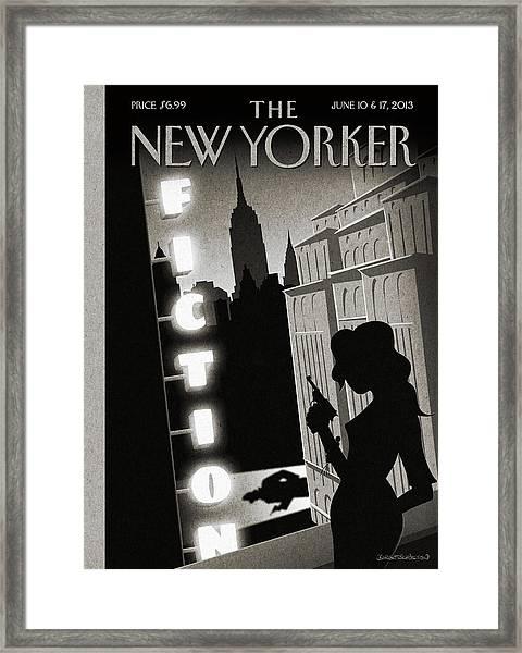 New Yorker June 10th, 2013 Framed Print