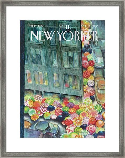 New Yorker April 23rd, 2007 Framed Print
