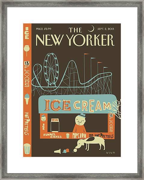 New Yorker September 2nd, 2013 Framed Print
