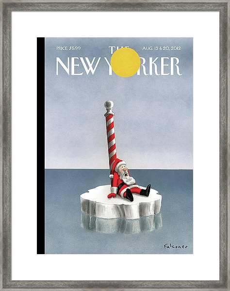 New Yorker August 13th, 2012 Framed Print