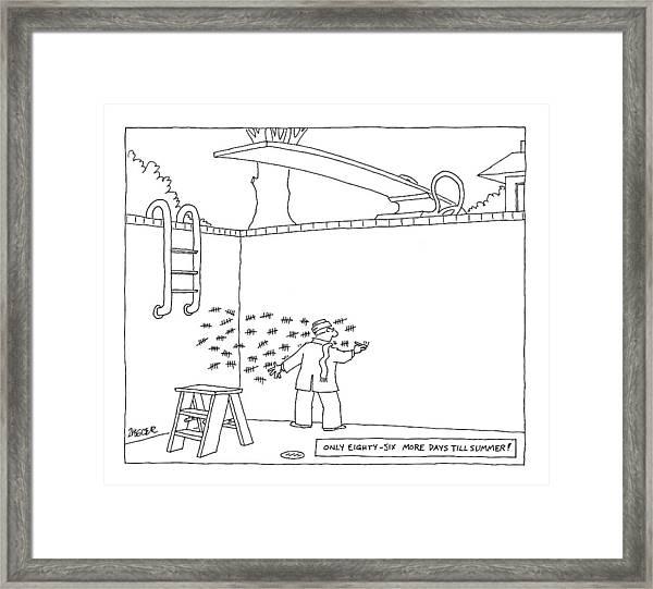 New Yorker April 2nd, 2007 Framed Print