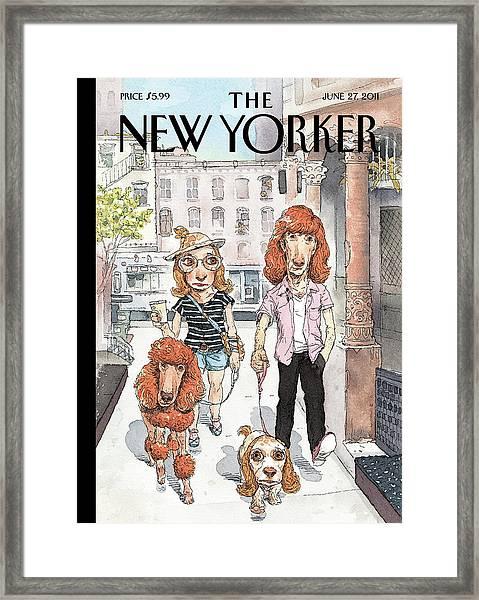 New Yorker June 27th, 2011 Framed Print