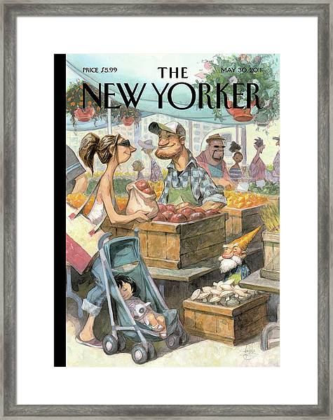 New Yorker May 30th, 2011 Framed Print