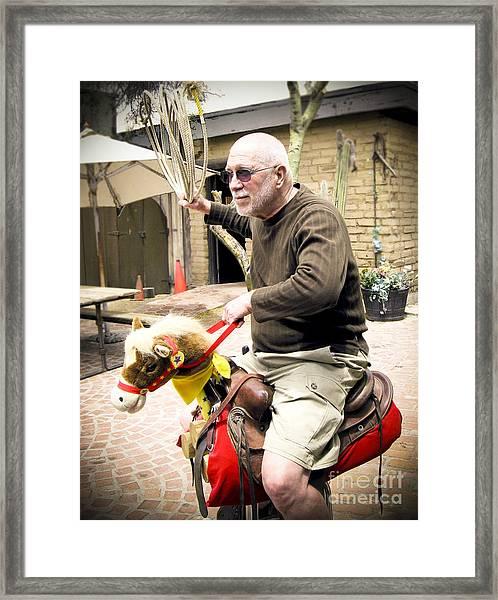 Urban Cowboy Framed Print