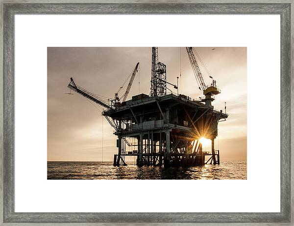 Usa, California, Santa Barbara Channel Framed Print