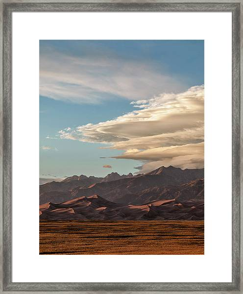 Usa, Colorado, Great Sand Dunes Framed Print by Ann Collins