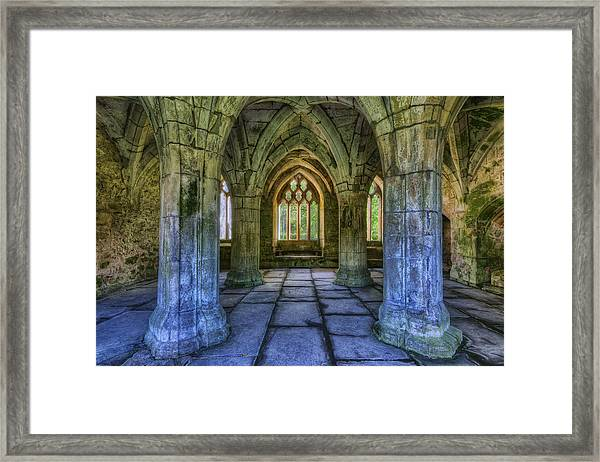 Valle Crucis Framed Print