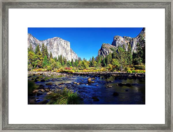 Valley View Yosemite National Park Framed Print