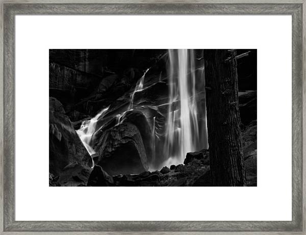Vernal Falls Framed Print