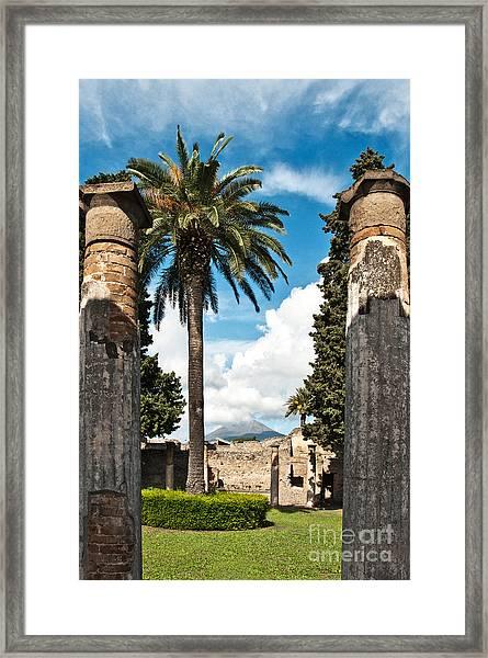 Vesuvius Framed Print