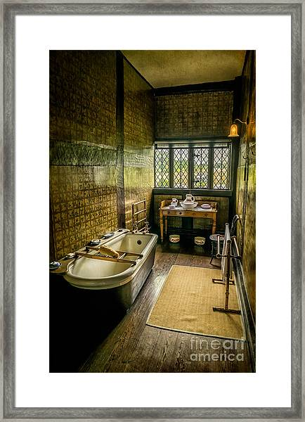 Victorian Wash Room Framed Print