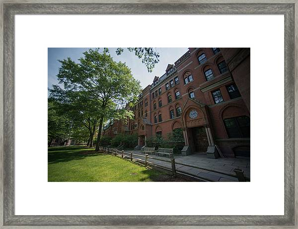 Views Of Yale University As Ivy League Pay Soars Framed Print by Bloomberg