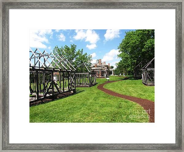 Virgina Madison Home Framed Print