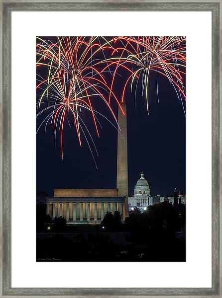 Washington Dc Fourth 3 Framed Print