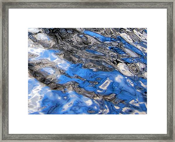 Water Surface Framed Print