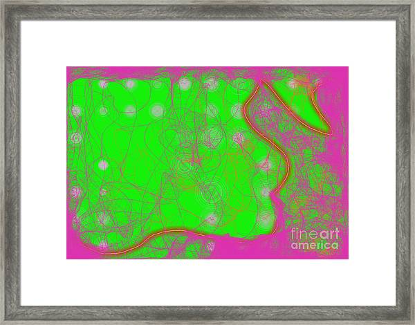 Web Of Love Iv Framed Print