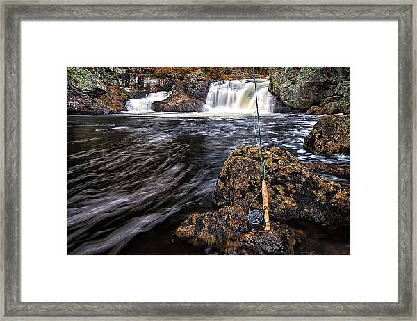 1 Weight On The Isinglass. Framed Print