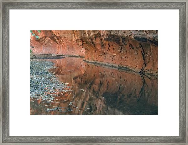 West Fork Reflection Framed Print