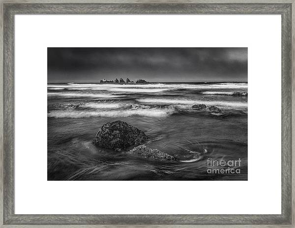 Water Moves Framed Print