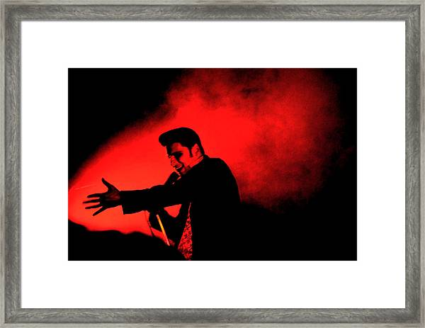 William Control Framed Print by Gino Inocentes
