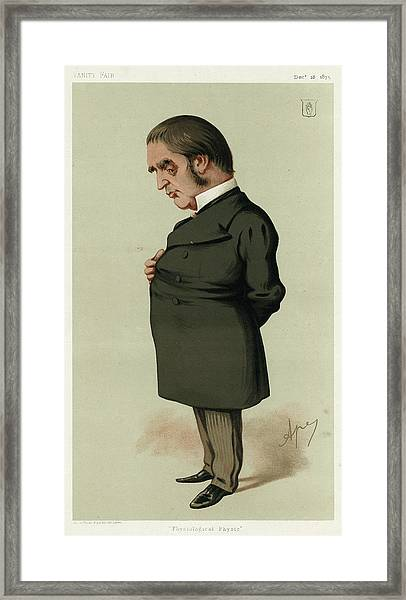 William Withey Gull  Medical Framed Print by Mary Evans Picture Library