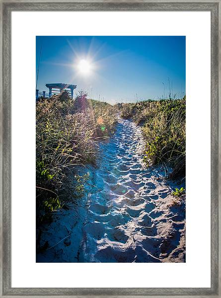 Wilmington Coastal Scene Wilmington North Carolina Framed Print