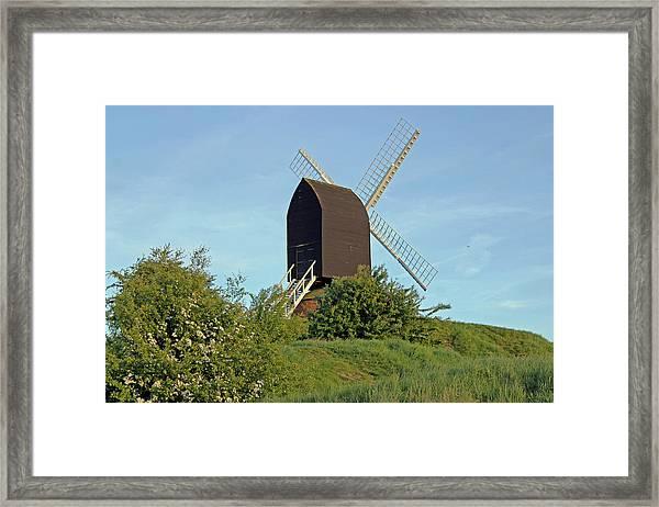 Windmill On Brill Common Framed Print