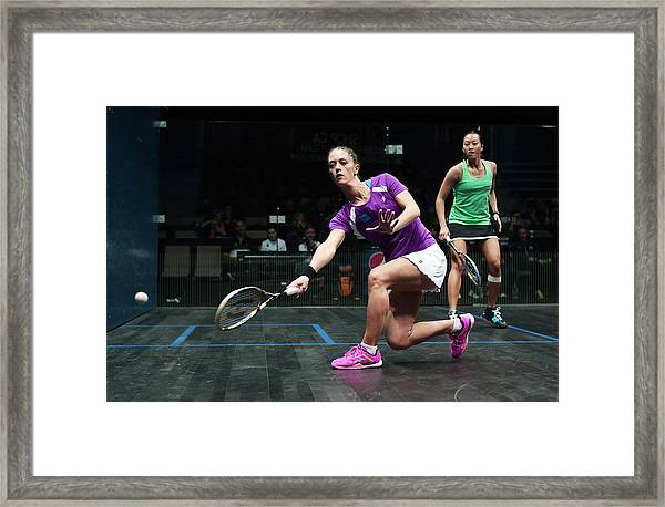 Women's World Team Squash Championship 2014 Framed Print by Vaughn Ridley