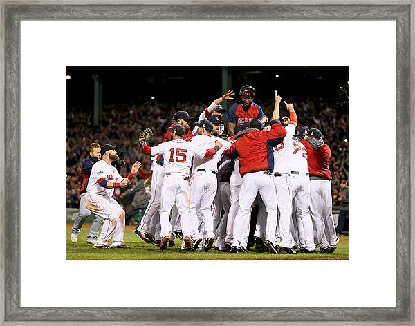 World Series - St Louis Cardinals V Framed Print