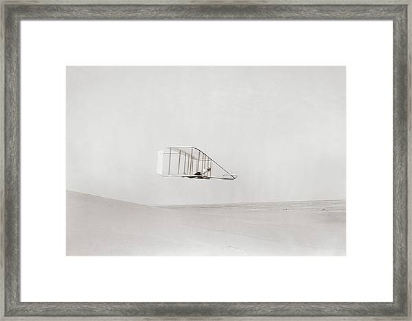 Wright Brothers Kitty Hawk Glider Framed Print