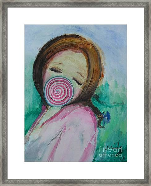 You're Beautiful Framed Print