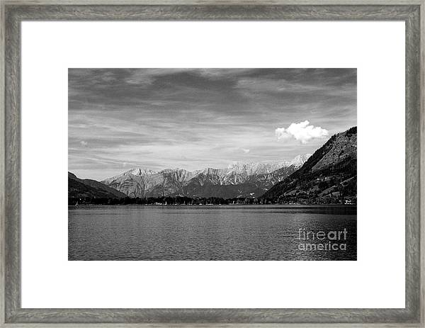 Zell Am See Framed Print