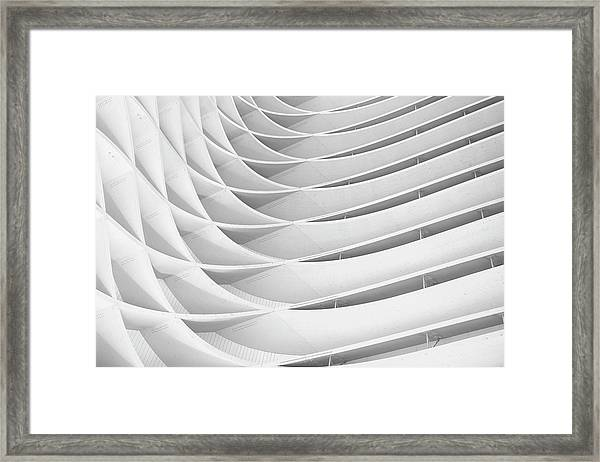 Study Of Patterns And Lines Framed Print by Roland Shainidze Photogaphy