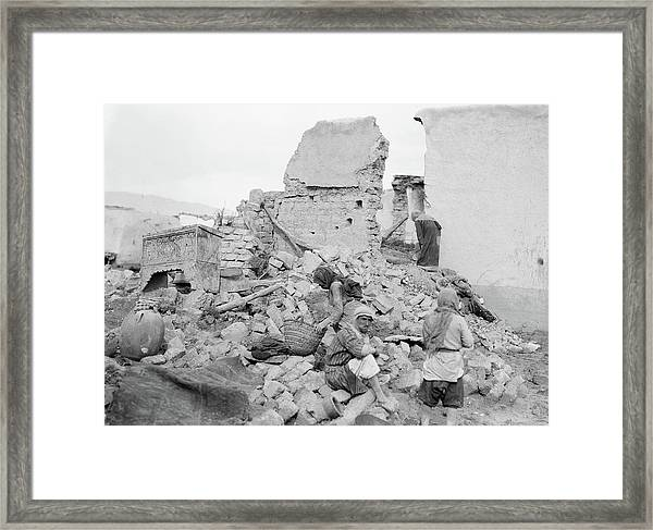Syria Flood, 1937 Framed Print by Granger
