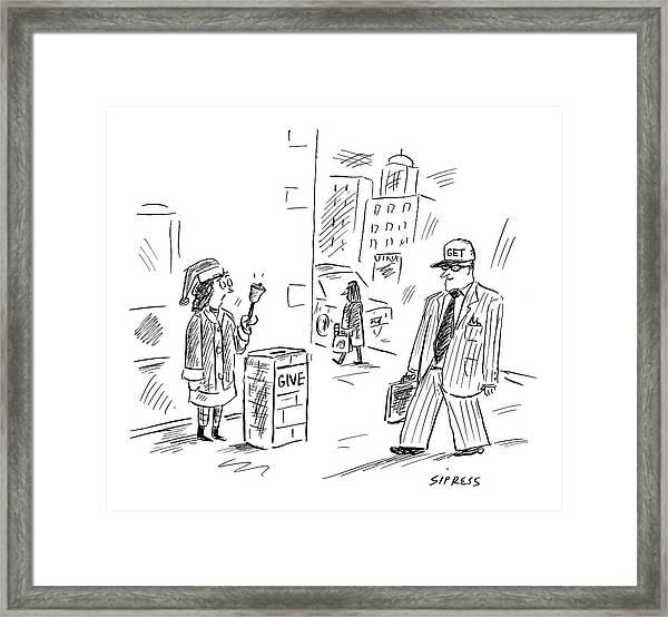 New Yorker December 12th, 2005 Framed Print