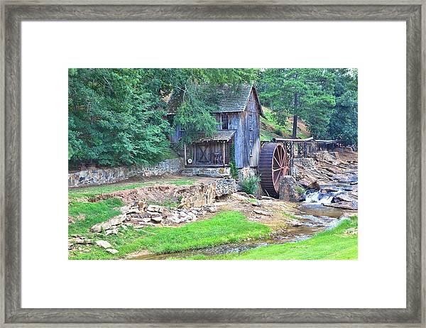 Sixes Mill On Dukes Creek Framed Print