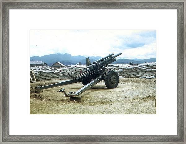 105mm Howitzer Framed Print