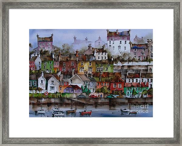 107 Windows Of Kinsale Co Cork Framed Print
