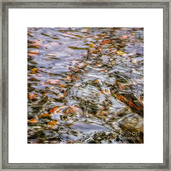 Holy Waters Of Sedona Az By Joanne Bartone Framed Print