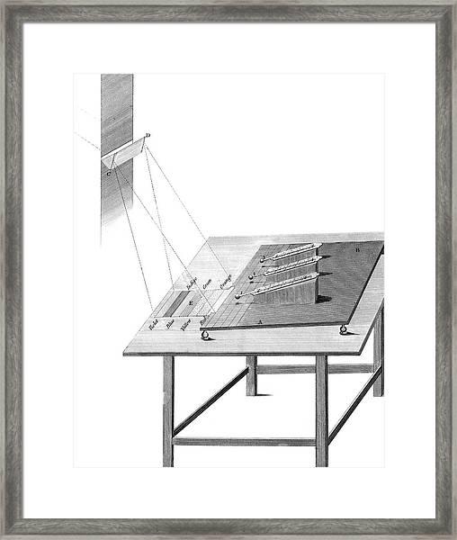 Herschel Infrared Light Experiments Framed Print