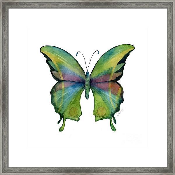 11 Prism Butterfly Framed Print