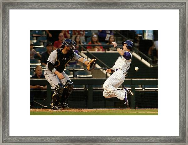 San Diego Padres V Arizona Diamondbacks Framed Print