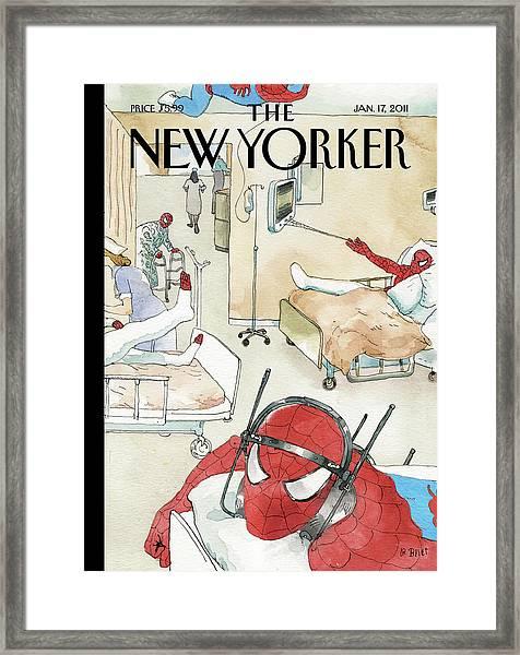 New Yorker January 17th, 2011 Framed Print