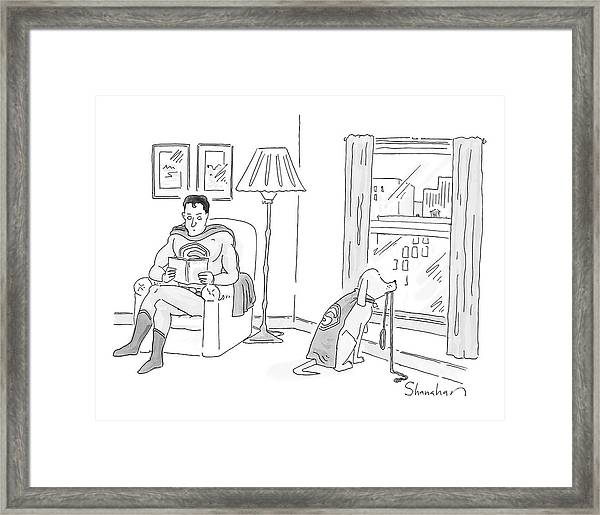 New Yorker March 17th, 2008 Framed Print
