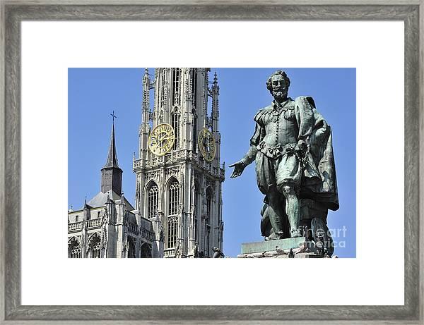 110801p238 Framed Print