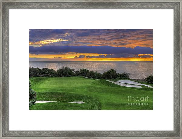 11th Green - Trump National Golf Course Framed Print