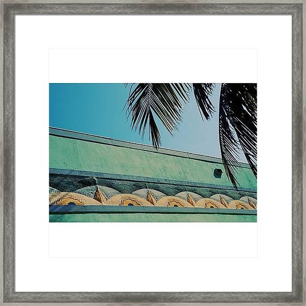 {miami Beach's Art Deco}  In 1979 Framed Print