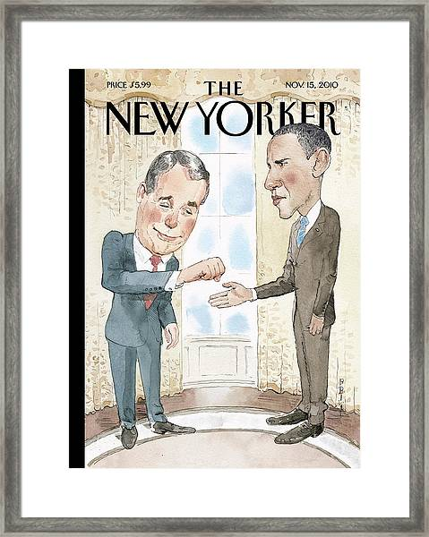 New Yorker November 15th, 2010 Framed Print