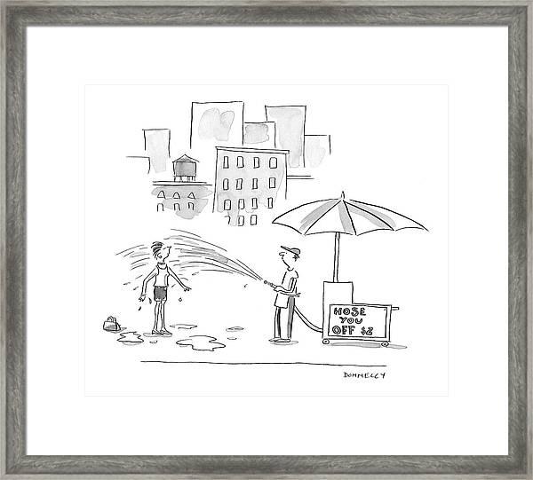 New Yorker June 27th, 2005 Framed Print